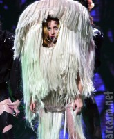 Lady Gaga became Mopdonna int his hilarious stage costume from the Monster Ball Tour