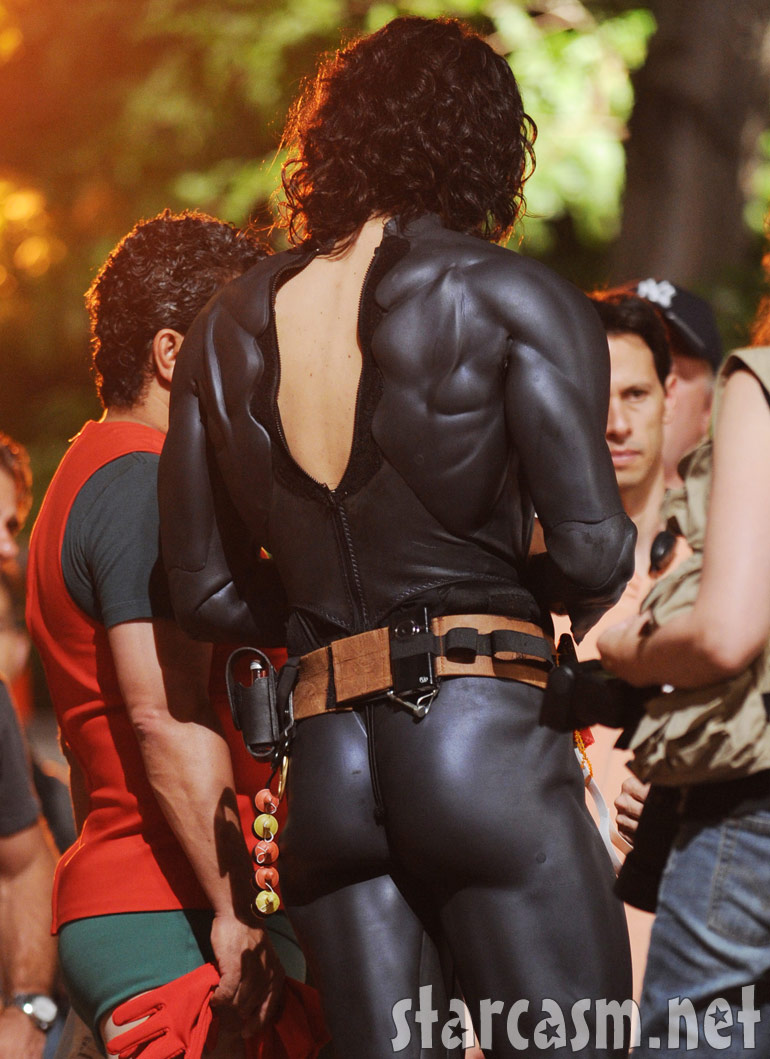 Russell Brand&#039;s Batman bum