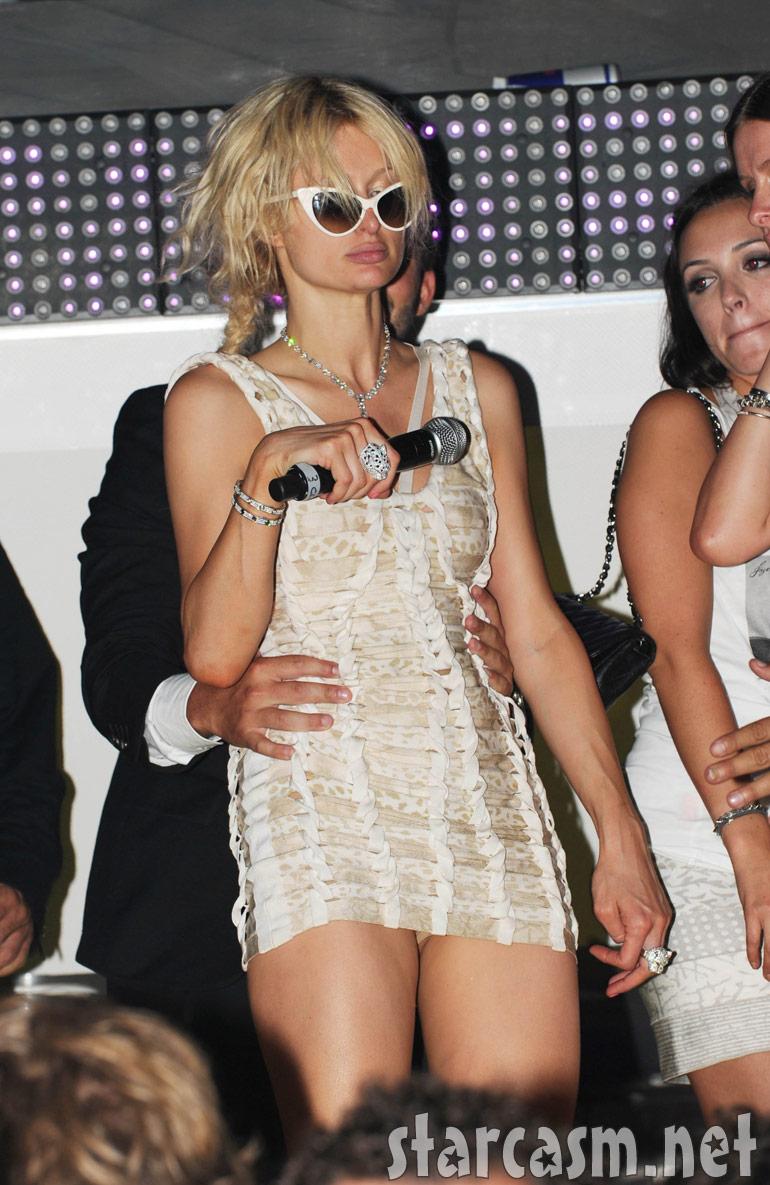 Paris Hilton completely smashed drunk in France July 23, 2010 ... Paris Hilton