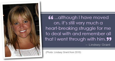 Lindsey Grant 2010 photo and quote