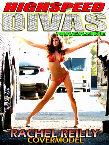 Rachel Reilly Highspeed Divas Magazine poster