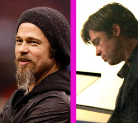 brad pitt beard movie. PHOTOS – Brad Pitt before and