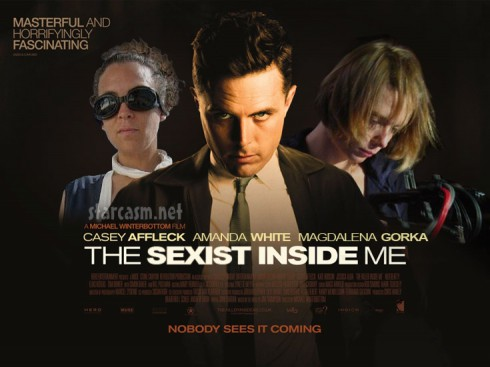 Movie poster featuring casey afflek and the two women suing him for