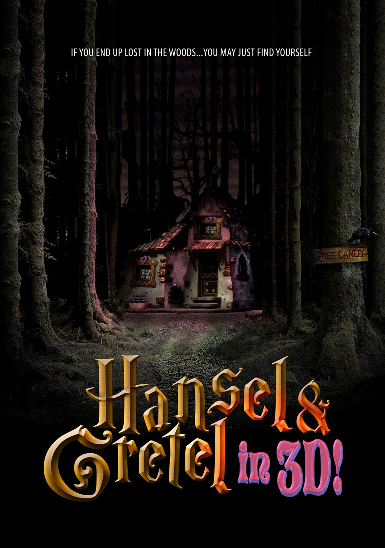 Photo 39 hansel and gretel in 3d 39 movie poster released for 3d film archive