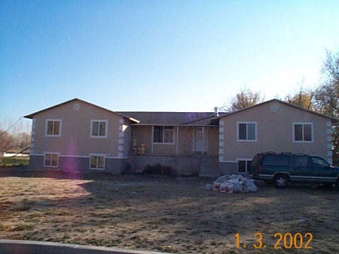 photo of the Brown's house via the Utah County Assessor's Office