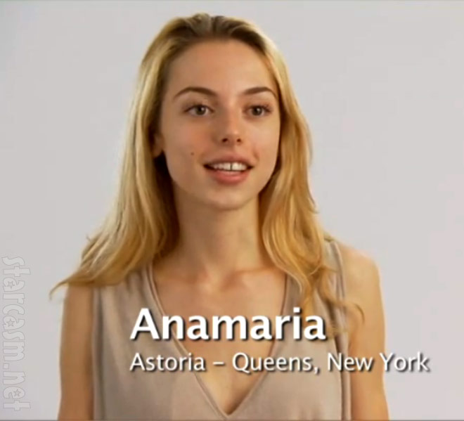 Anamaria Mirdita from America's Next Top Model Cycle 15