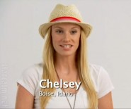 Chelsey Hersley from America's Next Top Model Cycle 15