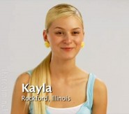 Kayla Ferrel from America's Next Top Model Cycle 15