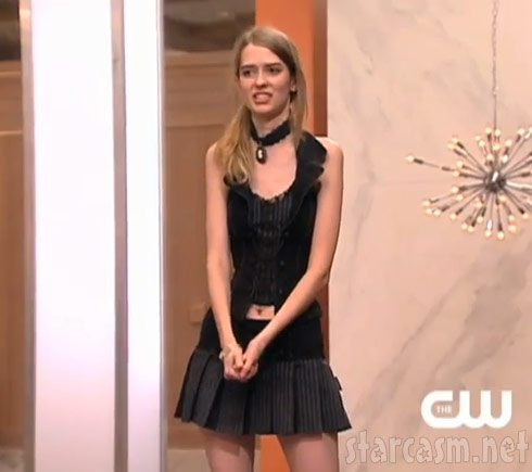 The attractive, tall and unbelievable skinny Ann Ward from America's Next Top Model