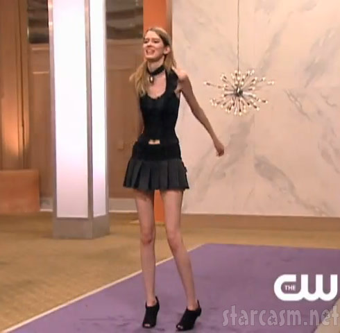 Skinny Ann Ward from Cycle 15 of America's Next Top Model