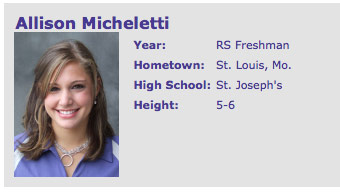 Furman golfer Allison Micheletti