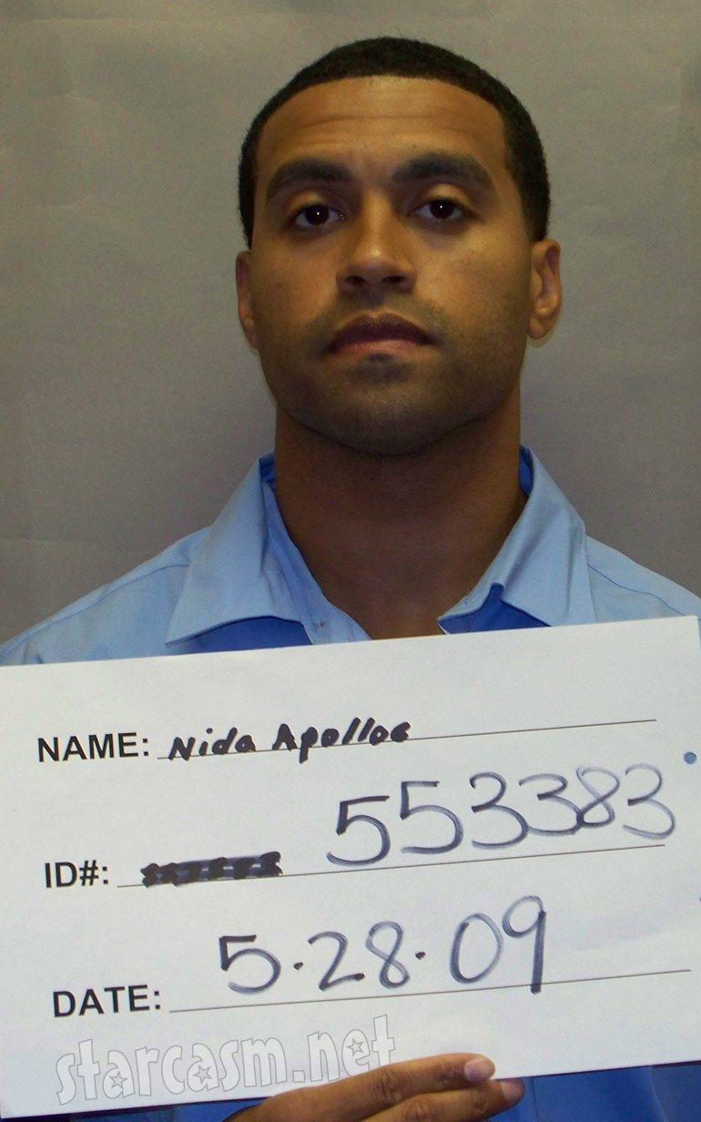 Here is Apollo Nida's most recent parolee photo from the Georgia