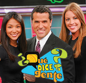Brenda Lowe from her time on the Hispanic game show Qué Dice la Gente