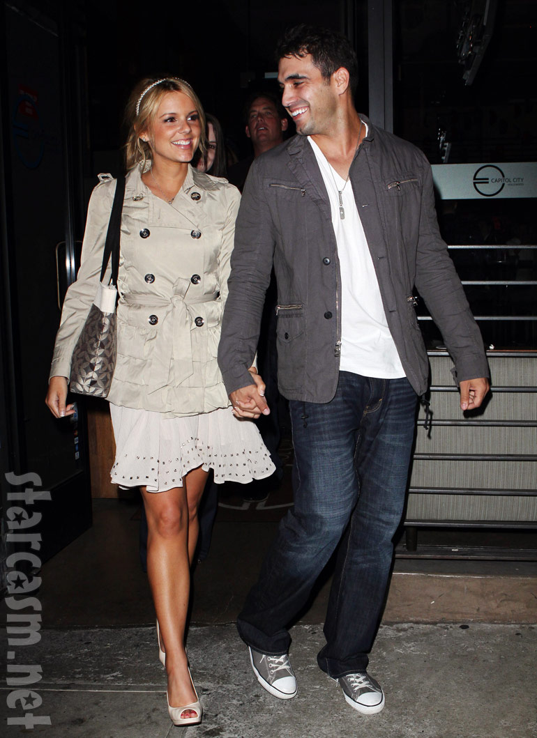 Ali Fedotowsky and Roberto Martinez in Los Angeles