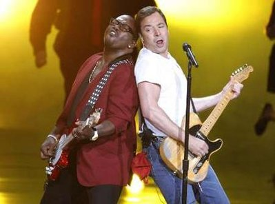 Jimmy Fallon and Randy Jackson as Bruce Springsteen and Clarence Clemons