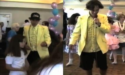 Paul Rudd working as a bat mitzvah DJ in 1992