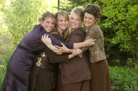 polygamy themed reality show called sister wives that will follow the