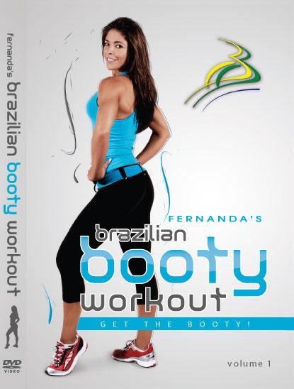 Brazilian Booty Workout DVD Fernanda Rocha