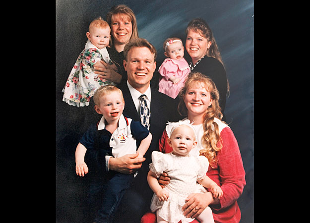 What faith do the Brown family from TLC's Sister Wives practice?