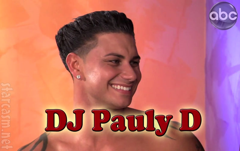 jersey shore snooki and pauly d. DJ Pauly D from the Jimmy