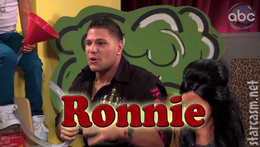 jersey shore ronnie beats up mike. The skit includes Jersey Shore