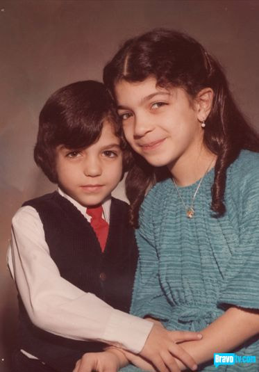 Teresa Giudice and her brother Giuseppe Gorga