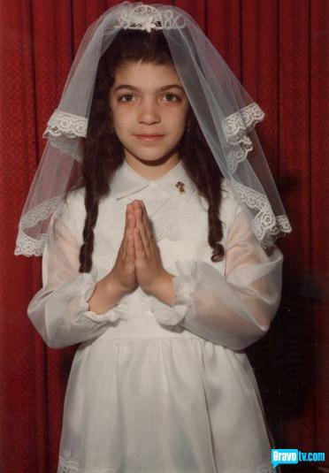 Teresa Gorga Giudice in her Christening gown