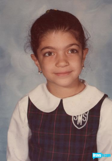 Teresa Giudice as a child