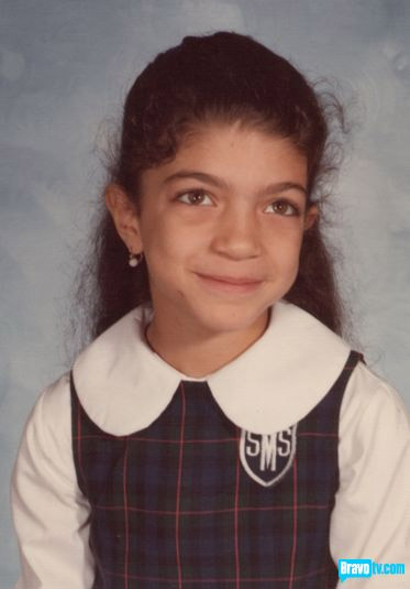 A young Teresa Giudice from The Real Housewives of New Jersey