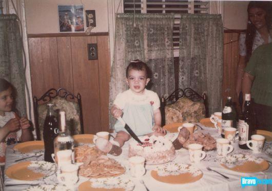 Teresa Giudice baby photo from her birthday