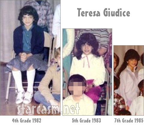 Teresa Giudice from Public School Number 27 class photos 1982-1985