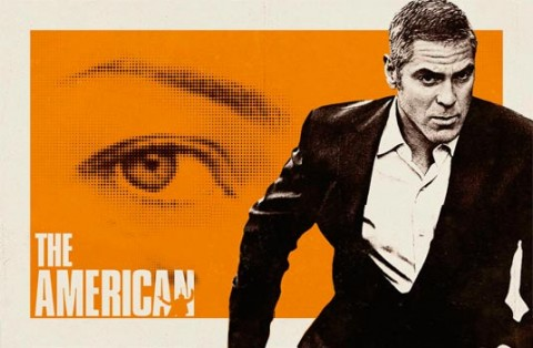 Movie poster for The American starring George Clooney