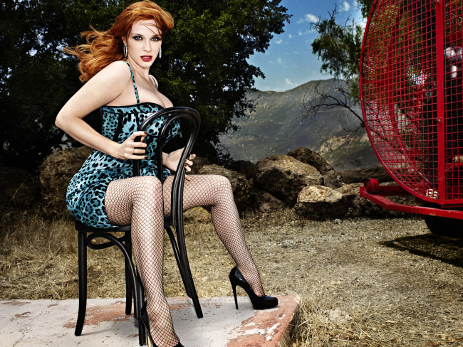 Christina Hendricks pin-up