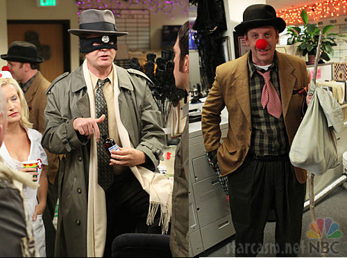 Dwight Schrute as the Scranton Strangler and Toby as a Hobo from The Office