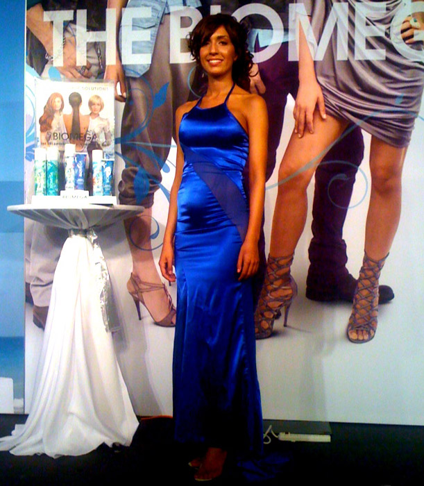 Teen Mom Farrah Abraham modeling for Aquage