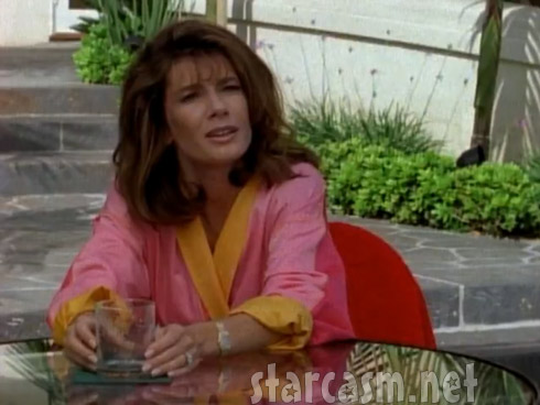 Lisa Vanderpump guzzling booze in Silk Stalkings
