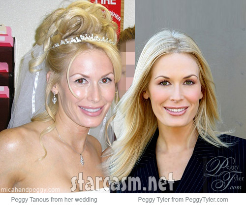 Real Housewives of Orange County's Peggy Tanous and model Peggy Tyler