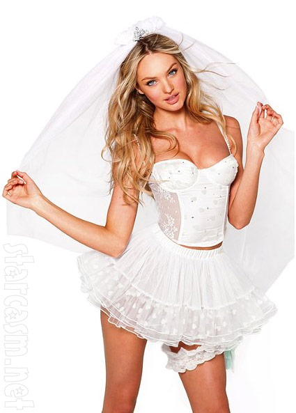 Victoria's secret sexy bride costume