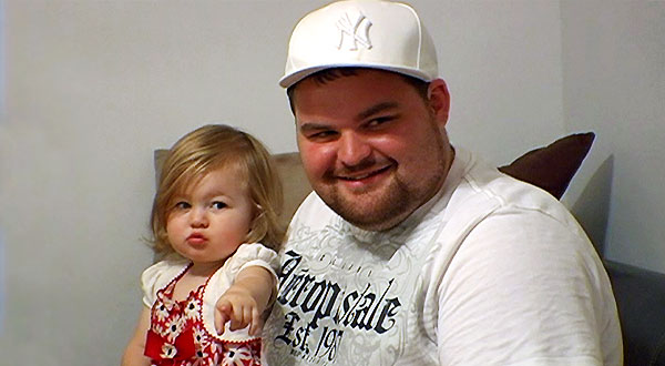 Leah and Gary from Teen Mom