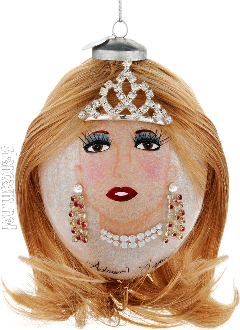 Adrien Arpel Designed This Kim Zolciak Christmas Ornament For Hsn's Heart  Collection