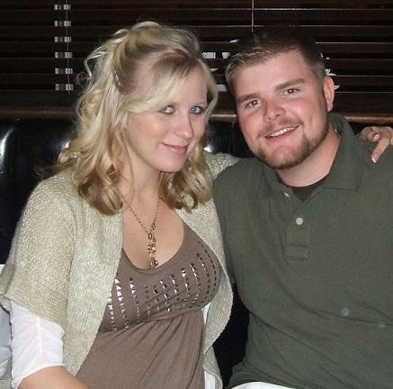 Aubrey Wolters Akerill and husband Brandon Akerill from 16 and Pregnant