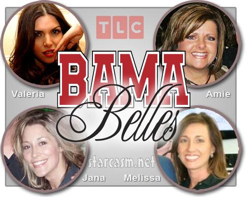 Bama Belles Val Tignini, Amie Pollard, Melissa McLaney, Jana Roberts Dakota Redding
