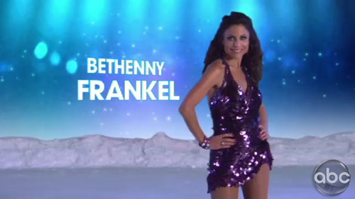 Bethenny Frankel on Skating With The Stars