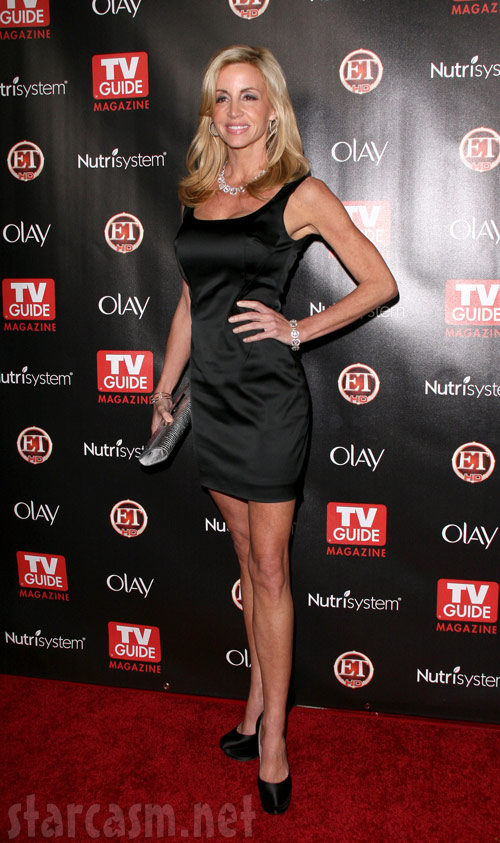 Camille Grammer at the 2010 TV Guide Hot List party