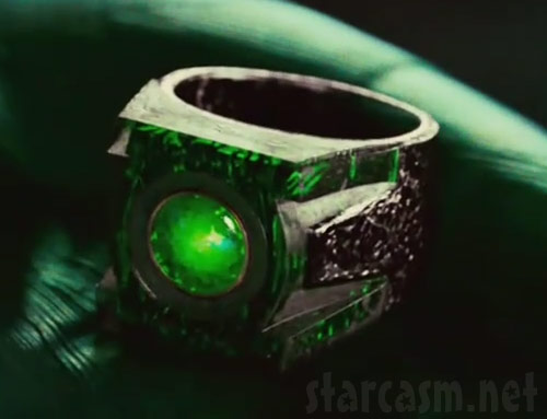 Green Lantern power ring from the 2011 film release