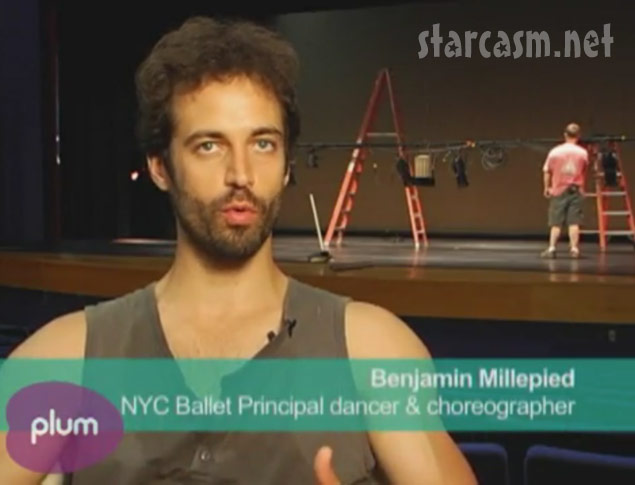 benjamin millepied and natalie portman dancing