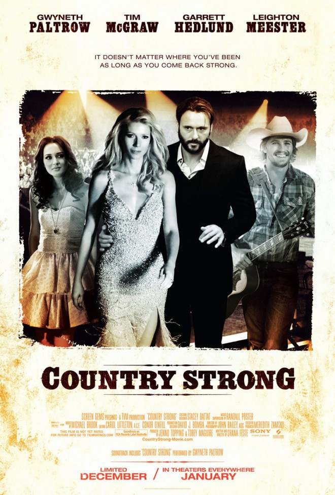High resolution Country Strong movie poster