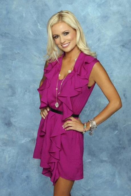 Emily Maynard's show photo - blonde, dreamy-eyed, Southern