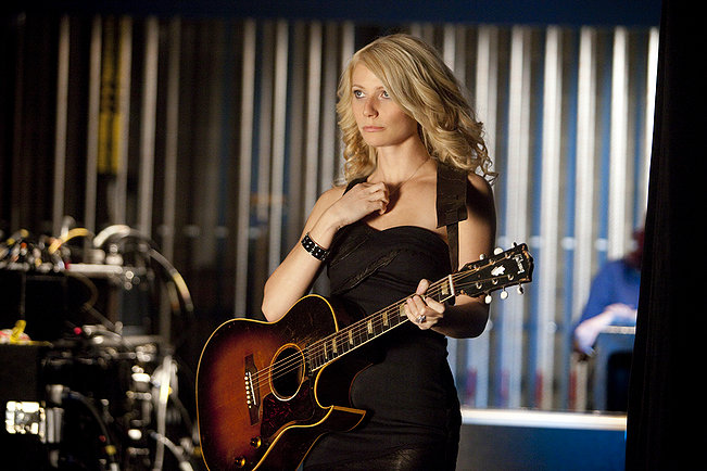 Gwyneth Paltrow as a sexy recovering alcohollic country singer in Country Strong