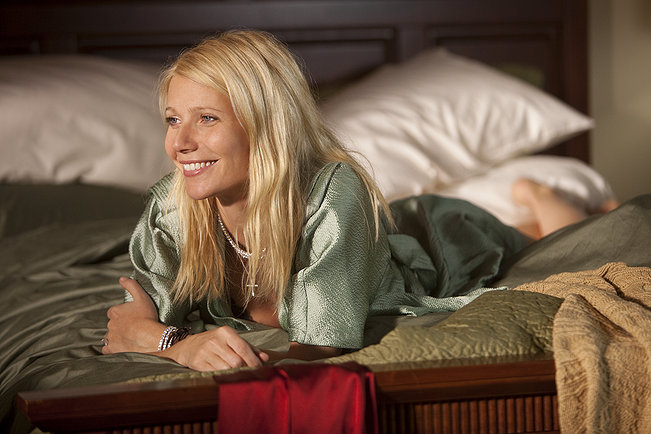 Gwyneth Paltrow as Kelly Canter in bed from Country Strong